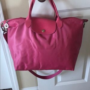 Longchamp Bags - 🔥1 day Sale🔥Pink Longchamp - Le Pilage Neo